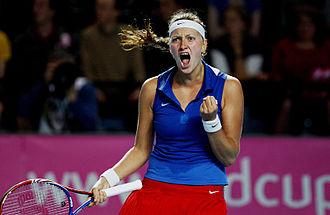 2011 Petra Kvitová tennis season - Petra Kvitová was instrumental in winning the Czech Republic their sixth Fed Cup title in 2011.
