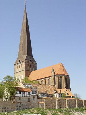 St. Peter's Church, Rostock - St. Petri in 2006