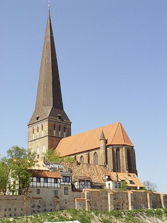 St. Peter's Church, Rostock - St. Petri in 2006