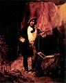 Pettenkofen Portrait of József Borsos 1840s.jpg