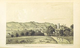 Saint Philip, Barbados - Image: Pg 260 St Philipps church and Moncreiffe in Barbados