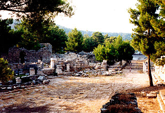 Phaselis - Main road