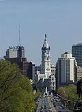Philadelphia City Hall (from Art Museum).JPG