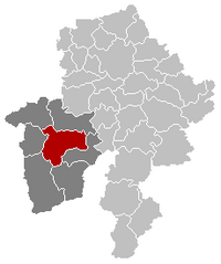 Philippeville Namur Belgium Map.png