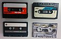 Philips, 3M, and TDK Compact Cassettes 20150430.jpg