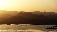 Pichola lake sunset.JPG
