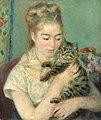 Pierre-Auguste Renoir - Femme au chat.jpg