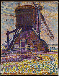 Piet Mondrian - The Winkel Mill, Pointillist Version - 1982.25.FA - Dallas Museum of Art.jpg