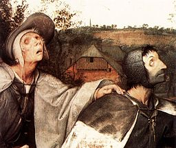 Pieter Bruegel the Elder - The Parable of the Blind Leading the Blind (detail) - WGA3512