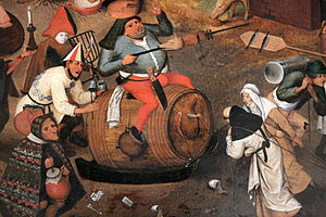 English: Pieter II Brueghel (the Younger) (156...