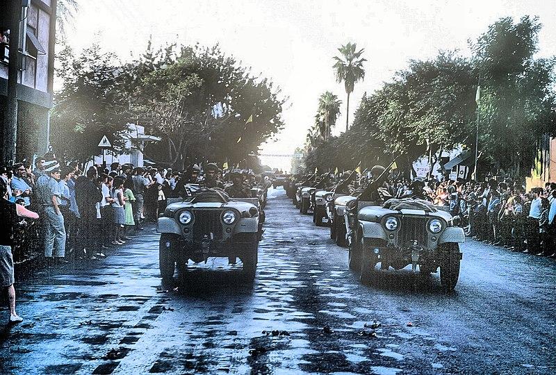 מצעד הנצחון 1967 בעכו