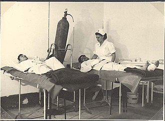 Military hospital - Image: Piki Wiki Israel 7052 Military hospital 11 (1948) Ziv