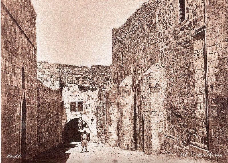 הויה דולורוזה ומצודת אנטוניה