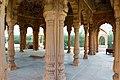 Pillars of kusum Sarovar Chhatris.jpg