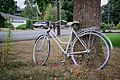Pink Bicycle (Milwaukie, Oregon).jpg