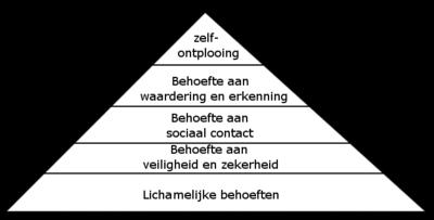 Afbeeldingsresultaat voor maslow piramide