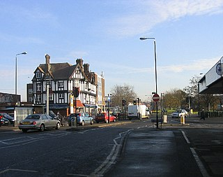 Pitsea town in Essex, England