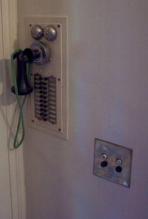 Intercom - Intercom system in the Pittock Mansion