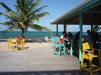 Placencia - Image: Placencia Bar Beachfront Belize
