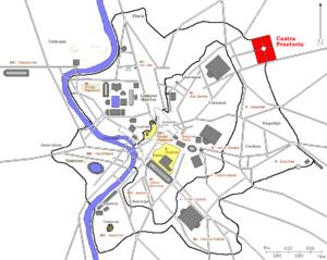 Castra Praetoria - The Castra Praetoria and ancient Rome
