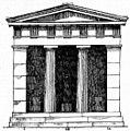 Plan of Ancient Greek temple, in RDCA-ru.jpg