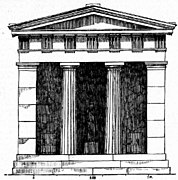 Plan of Ancient Greek temple, in RDCA-ru.jpg