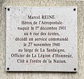 Plaque Marcel Reine à Aubervilliers.jpg