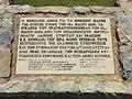 Plaque au mémorial de la Seconde Guerre mondiale de Preveli - 2.JPG