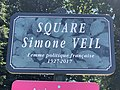 Plaque square Simone Veil Bourg Bresse 2.jpg