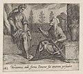 Plate 142- Pomona and Vertumnus (Vertumnus anili forma Pomonae sui amorem persuadet), from Ovid's 'Metamorphoses' MET DP864233.jpg