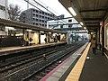 Platform of Uzumasa Station.jpg