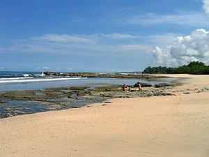 Nosara - Image: Playa Pelada 1
