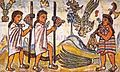 Pochtecas obtienen plumas de quetzal.JPG