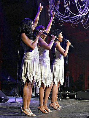 The Pointer Sisters - The Pointer Sisters in a performance for cancer research