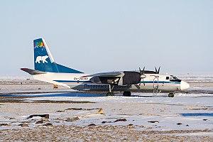 Tiksi Airport - Polar Airlines Antonov An-26 at Tiksi Airport (2017)