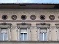 Pollak-Neumann house (1885). Building ornaments. - 28 Erzsébet Boulevard, Budapest.JPG