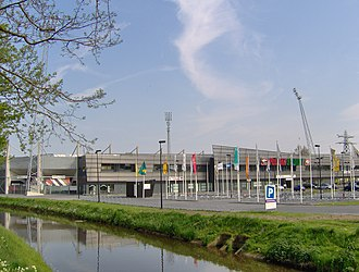 Polman Stadion - The Polman Stadion before the 2015 expansion
