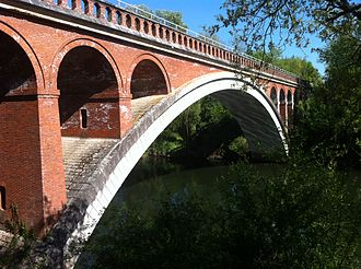 """Paul Séjourné - Image: Pont de l'Aguillou dit """"pont Antoinette"""""""