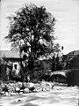 Pont et église dOurgoutte (Ourjout), 18 juillet 1882 (8190563854).jpg