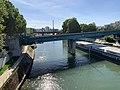 Pont ferroviaire Ligne 8 Métro Paris Maisons Alfort 1.jpg