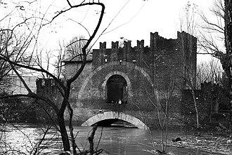 Ponte Nomentano - Image: Ponte Nomentano, Rome, Italy. Pic 01