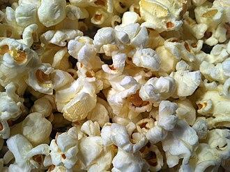 Popcorn - Popped corn