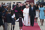 Pope Francis arrives at Joint Base Andrews 150922-F-IP635-427.jpg