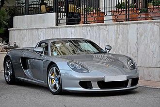 Porsche Carrera GT - Image: Porsche Carrera GT (7190739038)