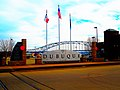 Port of Dubuque Welcome Sign ^ Julien Dubuque Bridge - panoramio.jpg