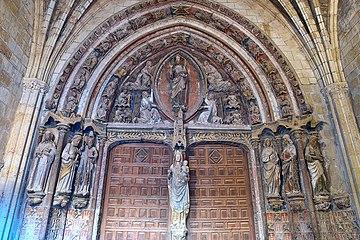 Portada de la Virgen del Dado, Catedral de León