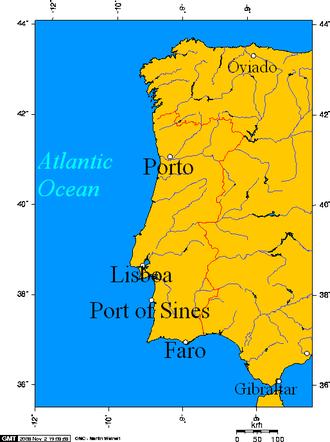 Port of Sines - Porto, Lisboa, Port of Sines, Faro, on the Portuguese coast.