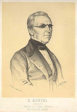 Claude Montal - Portrait of Claude Montal (1800-1865)