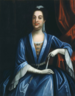 Portrait supposé être de Lord Cornbury en vêtements pour femmes