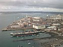 Portsmouth Historic Dockyard from the Spinnaker Tower.JPG